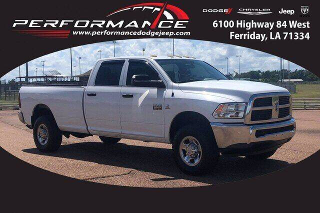 2012 RAM Ram Pickup 3500 for sale at Auto Group South - Performance Dodge Chrysler Jeep in Ferriday LA