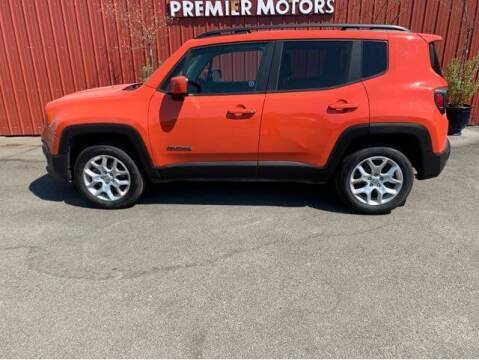 2016 Jeep Renegade for sale at PREMIERMOTORS  INC. in Milton Freewater OR