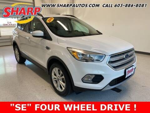 2018 Ford Escape for sale at Sharp Automotive in Watertown SD
