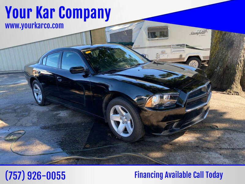 2013 Dodge Charger for sale at Your Kar Company in Norfolk VA