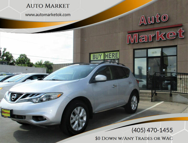 2013 Nissan Murano for sale at Auto Market in Oklahoma City OK