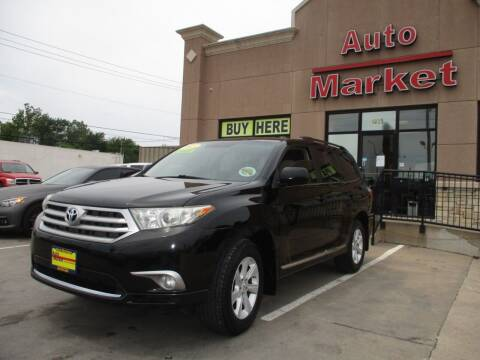 2013 Toyota Highlander for sale at Auto Market in Oklahoma City OK