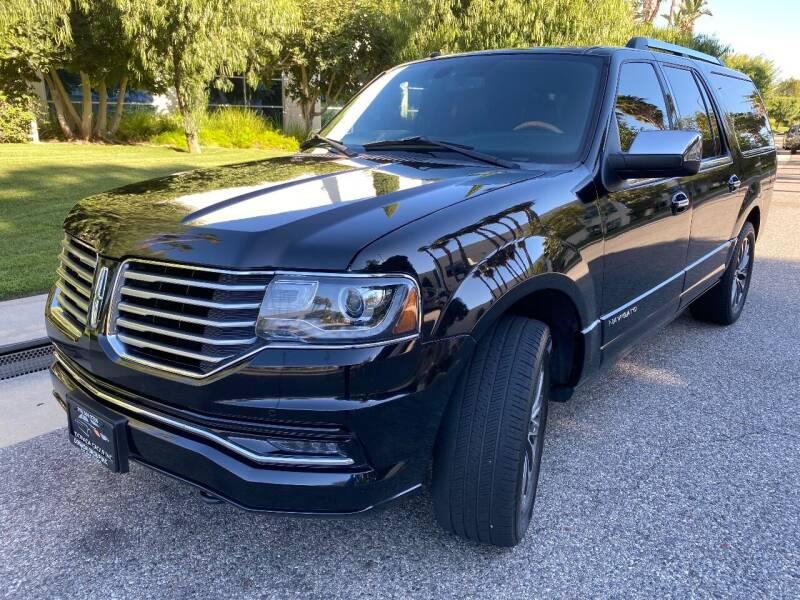 2016 Lincoln Navigator L for sale at Donada  Group Inc in Arleta CA
