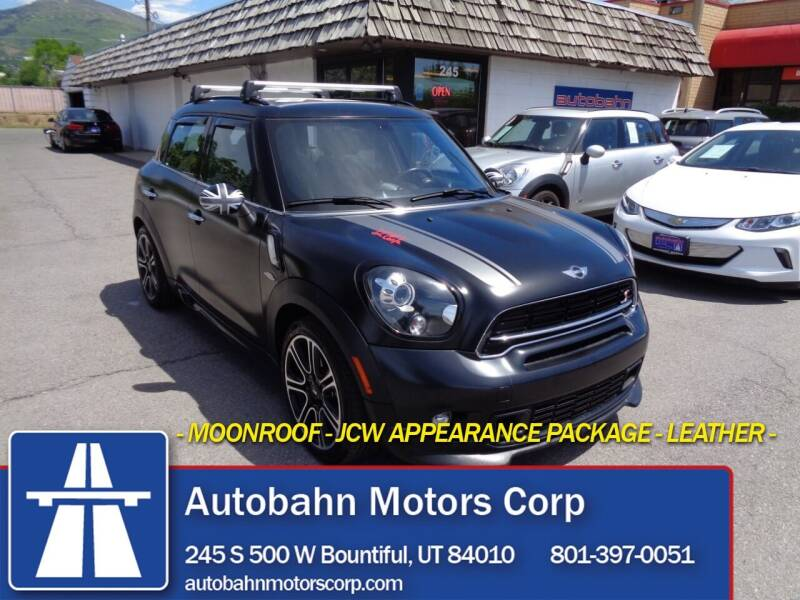 2015 MINI Countryman for sale at Autobahn Motors Corp in Bountiful UT