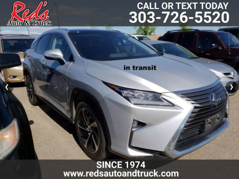 2016 Lexus RX 450h for sale at Red's Auto and Truck in Longmont CO