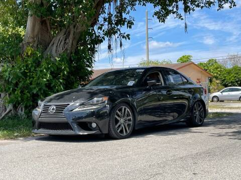 2014 Lexus IS 350 for sale at Auto Direct of South Broward in Miramar FL