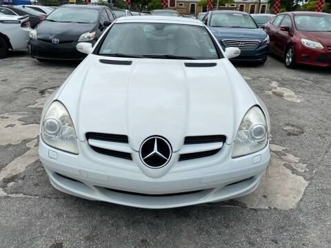 2005 Mercedes-Benz SLK for sale at America Auto Wholesale Inc in Miami FL