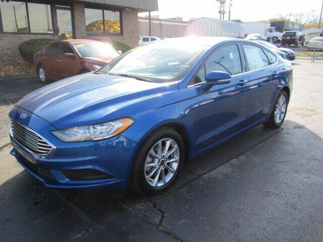 2017 Ford Fusion for sale at Jacobs Auto Sales in Nashville TN