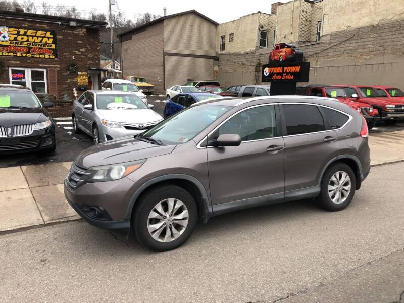 2012 Honda CR-V for sale at STEEL TOWN PRE OWNED AUTO SALES in Weirton WV