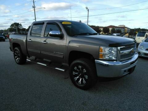 2012 Chevrolet Silverado 1500 for sale at Kelly & Kelly Supermarket of Cars in Fayetteville NC