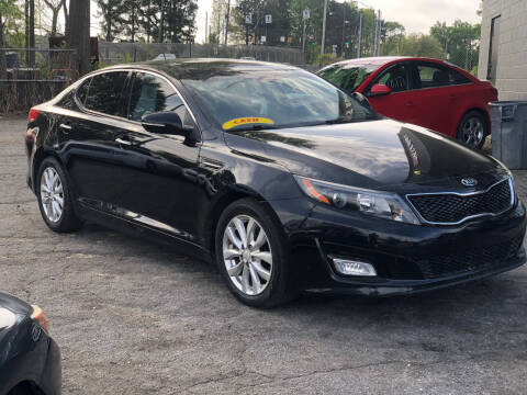 2015 Kia Optima for sale at TEAM AUTO SALES in Atlanta GA