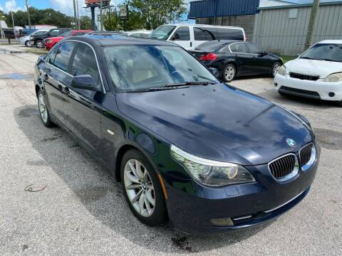 2010 BMW 5 Series for sale at Marvin Motors in Kissimmee FL