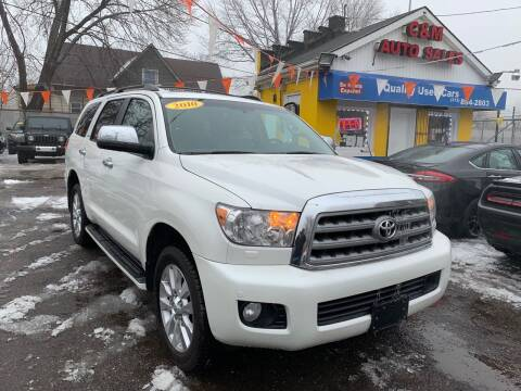 2010 Toyota Sequoia for sale at C & M Auto Sales in Detroit MI