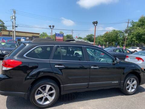2013 Subaru Outback for sale at Primary Motors Inc in Commack NY