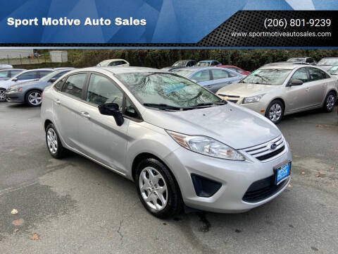 2013 Ford Fiesta for sale at Sport Motive Auto Sales in Seattle WA