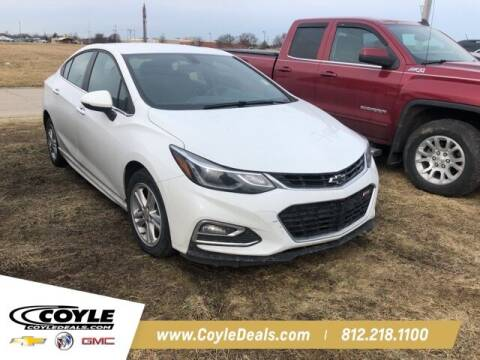 2017 Chevrolet Cruze for sale at COYLE GM - COYLE NISSAN - Coyle Nissan in Clarksville IN