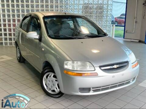 2005 Chevrolet Aveo for sale at iAuto in Cincinnati OH