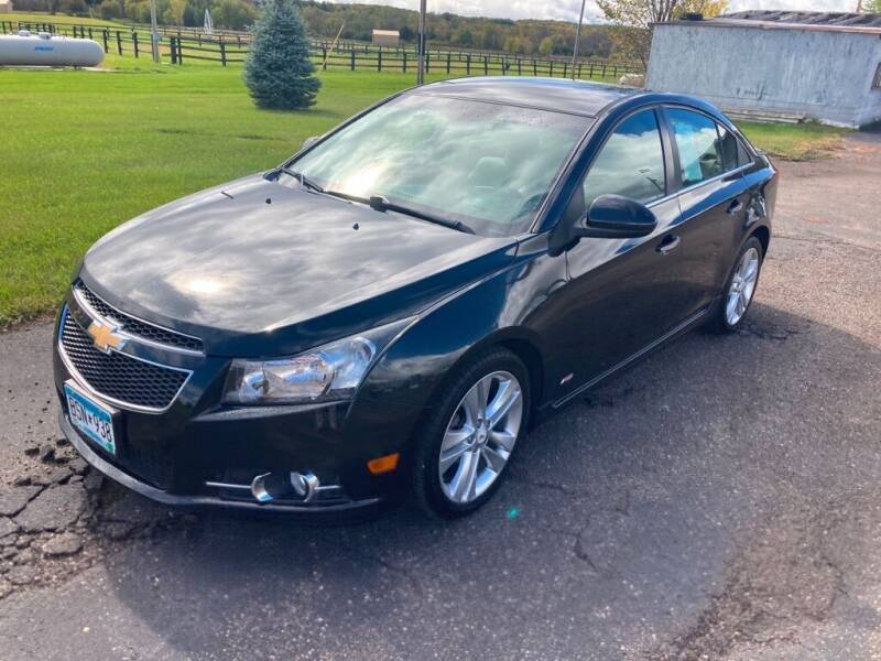 2011 Chevrolet Cruze for sale at Green Valley Sales & Leasing in Jordan MN