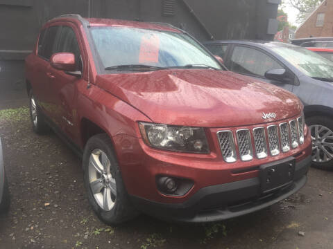 2014 Jeep Compass for sale at MELILLO MOTORS INC in North Haven CT