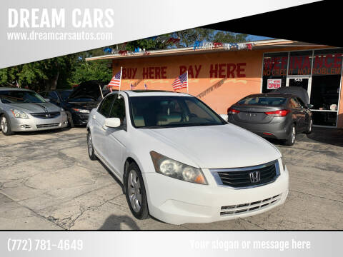 2009 Honda Accord for sale at DREAM CARS in Stuart FL