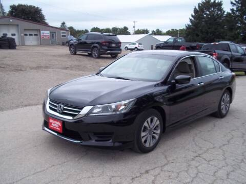 2014 Honda Accord for sale at SHULLSBURG AUTO in Shullsburg WI
