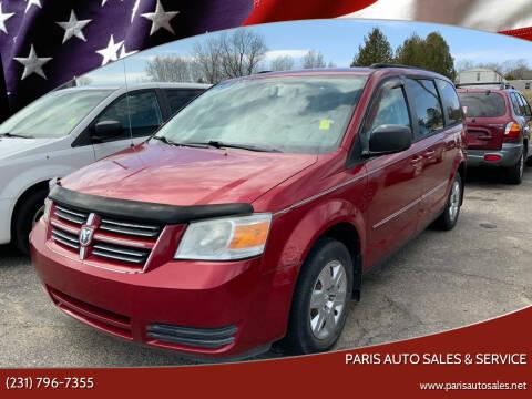 2008 Dodge Grand Caravan for sale at Paris Auto Sales & Service in Big Rapids MI