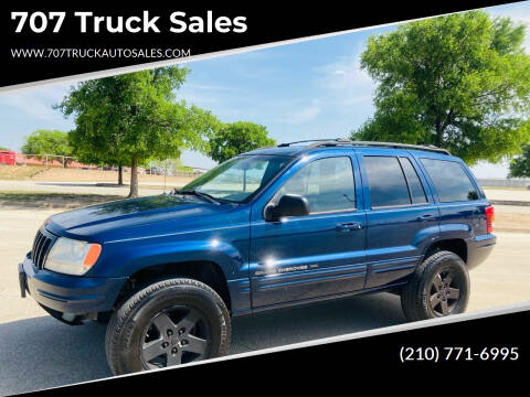 2000 Jeep Grand Cherokee for sale at 707 Truck Sales in San Antonio TX