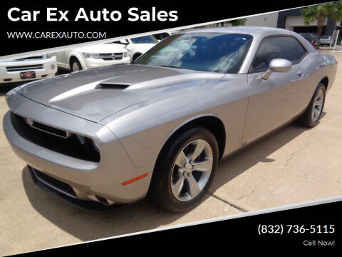 2015 Dodge Challenger for sale at Car Ex Auto Sales in Houston TX