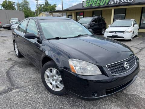 2006 Nissan Altima for sale at speedy auto sales in Indianapolis IN