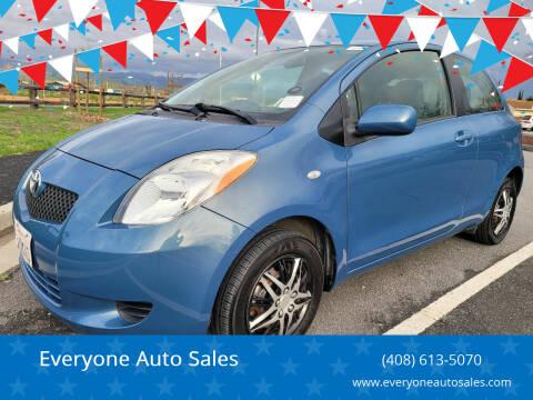 2007 Toyota Yaris for sale at Everyone Auto Sales in Santa Clara CA