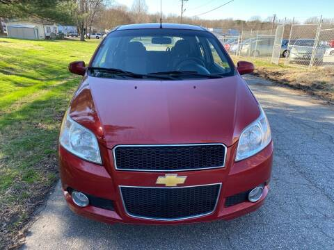 2011 Chevrolet Aveo for sale at Speed Auto Mall in Greensboro NC