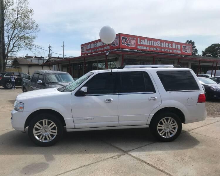 2014 Lincoln Navigator for sale at LA Auto Sales in Monroe LA