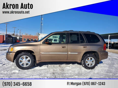 2003 GMC Envoy for sale at Akron Auto in Akron CO