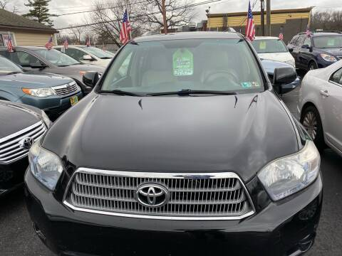 2010 Toyota Highlander Hybrid for sale at Primary Motors Inc in Commack NY