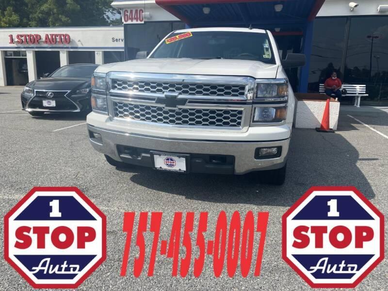 2014 Chevrolet Silverado 1500 for sale at 1 Stop Auto in Norfolk VA