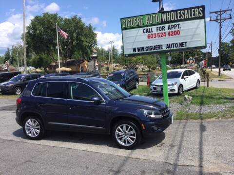 2013 Volkswagen Tiguan for sale at Giguere Auto Wholesalers in Tilton NH