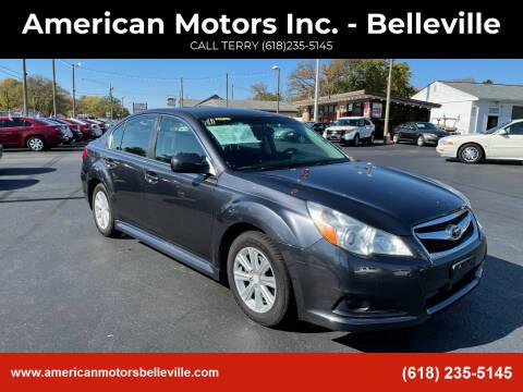 2010 Subaru Legacy for sale at American Motors Inc. - Belleville in Belleville IL