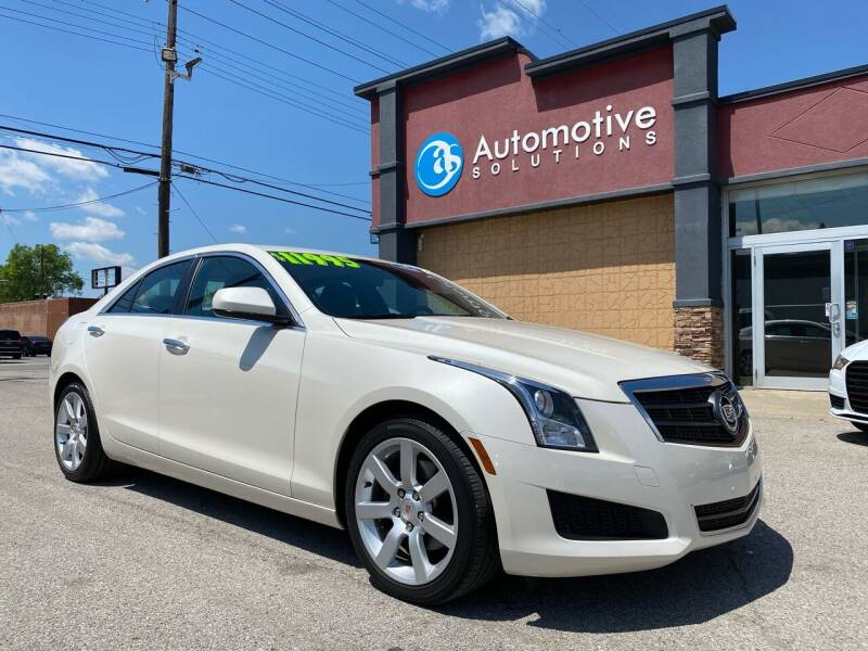 2013 Cadillac ATS for sale at Automotive Solutions in Louisville KY