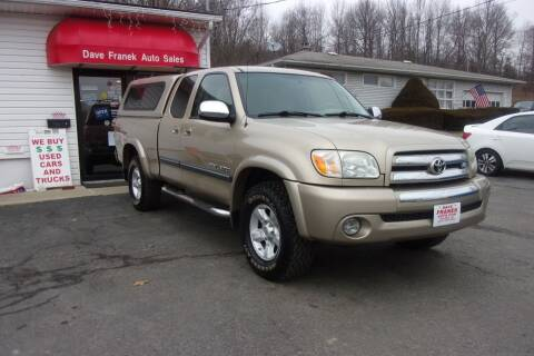 2005 Toyota Tundra for sale at Dave Franek Automotive in Wantage NJ