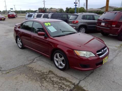 2009 Subaru Legacy for sale at Regency Motors Inc in Davenport IA