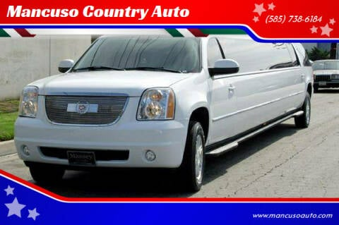 2008 GMC YUKON LIMOUSINE for sale at Mancuso Country Auto in Batavia NY