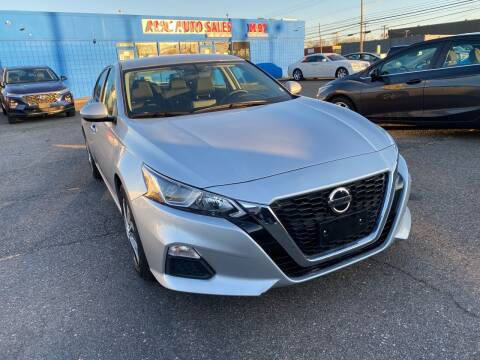 2020 Nissan Altima for sale at M-97 Auto Dealer in Roseville MI