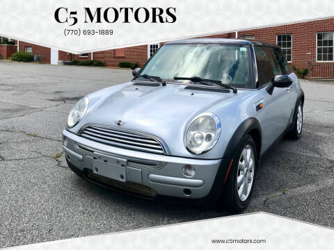 2003 MINI Cooper for sale at C5 Motors in Marietta GA