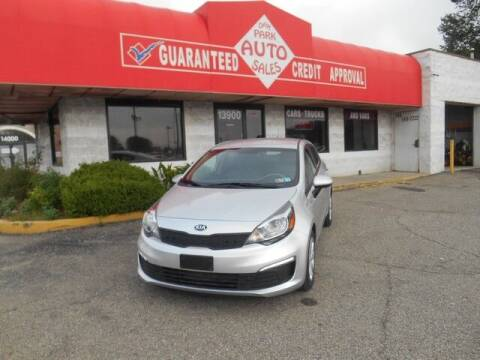 2017 Kia Rio for sale at Oak Park Auto Sales in Oak Park MI