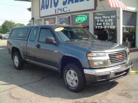 2006 GMC Canyon for sale at G & L Auto Sales Inc in Roseville MI