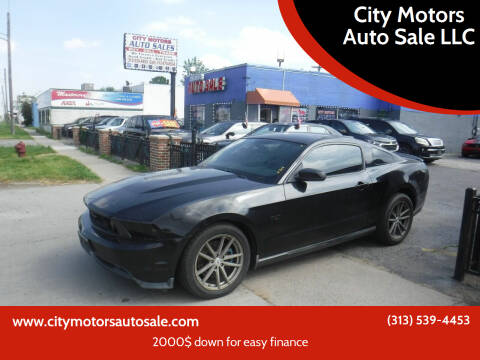 2011 Ford Mustang for sale at City Motors Auto Sale LLC in Redford MI