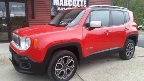 2016 Jeep Renegade for sale at Marcotte & Sons Auto Village in North Ferrisburgh VT