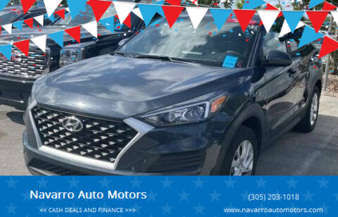 2019 Hyundai Tucson for sale at Navarro Auto Motors in Hialeah FL