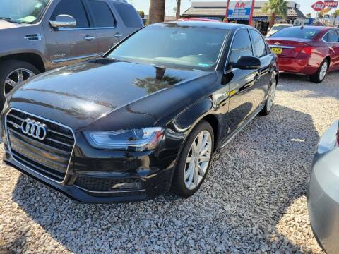 2014 Audi A4 for sale at A AND A AUTO SALES in Gadsden AZ