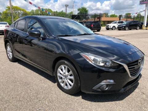 2015 Mazda MAZDA3 for sale at SKY AUTO SALES in Detroit MI